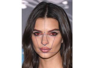 متقارن ترین صورت های هالیوودی کدامند؟