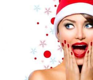 beautiful woman santa hat 300x260 - 4 روش موثر در حذف موهای زائد