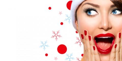 beautiful woman santa hat 480x240 - 4 روش موثر در حذف موهای زائد