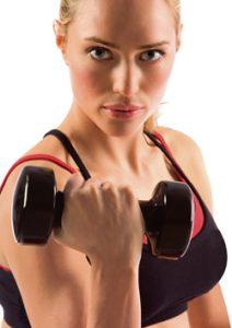 botox and lifting weights 212x300 1 - نکاتی مهم در رابطه با ورزش پس از تزریق بوتاکس