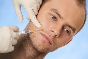 botox man 300x200 1 - تزریق بوتاکس به پایین چهره ( فک و ناحیه ی میان چانه و گونه)