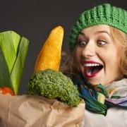 سبزی 180x180 - 15 پیشنهاد کم کالری، برای افرادی که سالم زندگی می کنند!