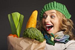 سبزی 300x200 - 15 پیشنهاد کم کالری، برای افرادی که سالم زندگی می کنند!