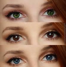 download 1 2 - چگونه با آرایش ،چشم ها را بزرگ تر کنیم؟