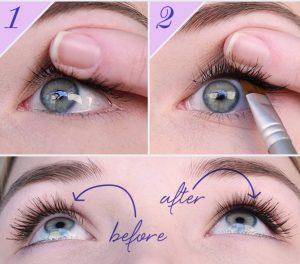5 18 300x264 - 10 نکته آرایشی که قبلا هیچ کس به شما نگفته به همراه فیلم آموزشی آرایش چشم