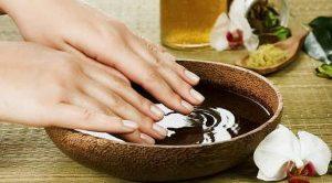 benefits hot oil manicure 2 300x166 - درباره مانیکور چه میدانید؟