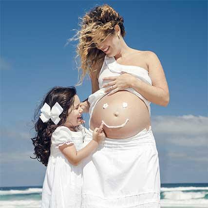 safe tanning during pregnancy - آیا می توان در دوران بارداری برنزه کرد؟!
