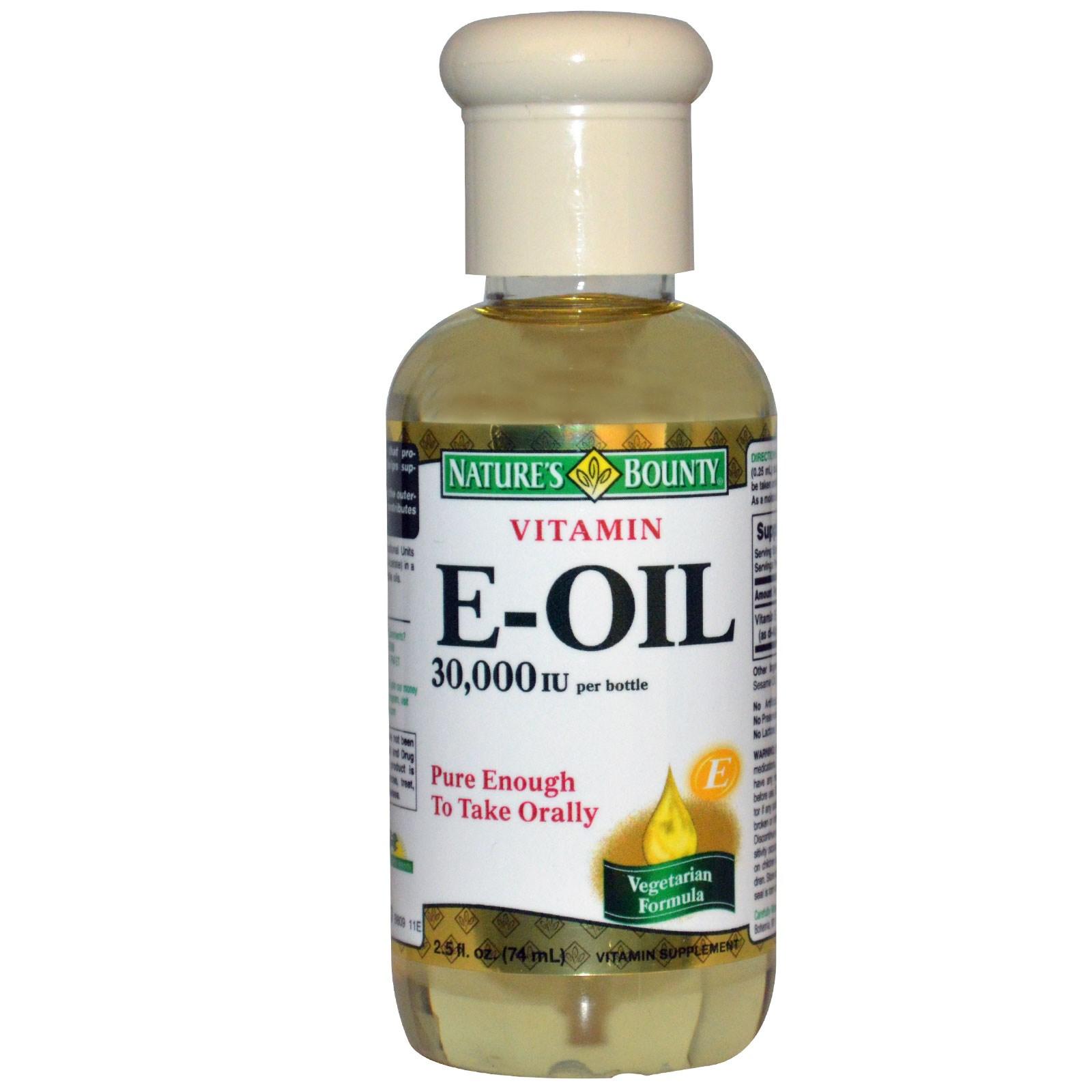 3 12 - مزایای استفاده از روغن ویتامین E برای پوست و مو