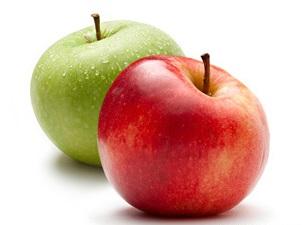 apple - بهترین میوه ها برای کاهش وزن