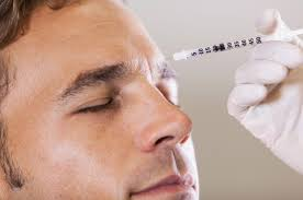 129 - بوتاکس صورت مردان   تزریق بوتاکس خط اخم   بوتاکس پیشانی