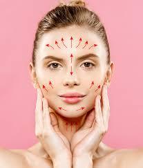 رفع افتادگی صورت با تزریق ژل