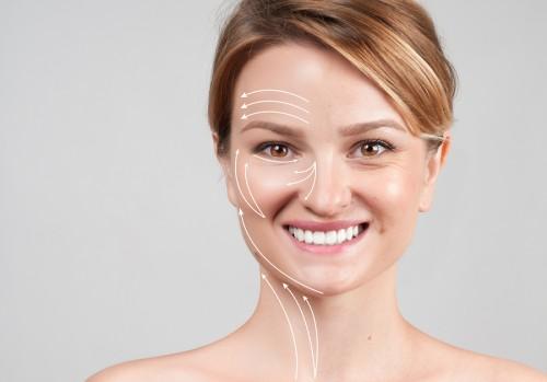 bigstock Woman With Massage Lines Skin 190479040 e1500297485480 - رفع خط اخم و لبخند با پلاسما جت،جوانسازی پوست